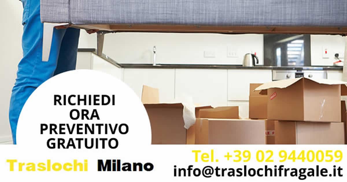Per sapere il costo trasloco a Milano Mantova chiama Traslochi Fragale impresa per Traslochi e Piccoli Traslochi a Milano Mantova richiedi un preventivo di costo trasloco Milano Mantova